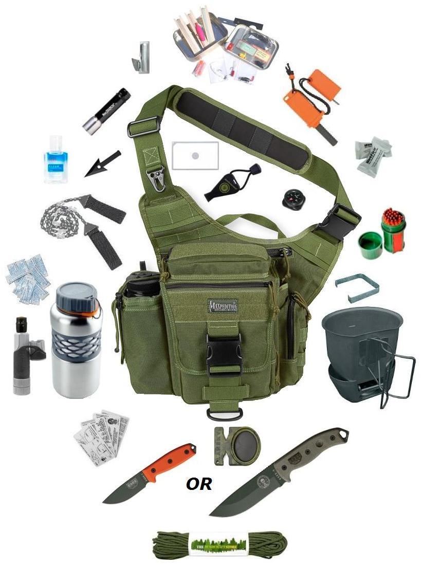 Scout Stemdasi Perlengkapan Survival Kit
