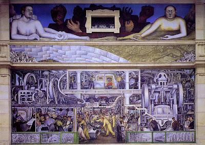 Muro sur de Diego Rivera