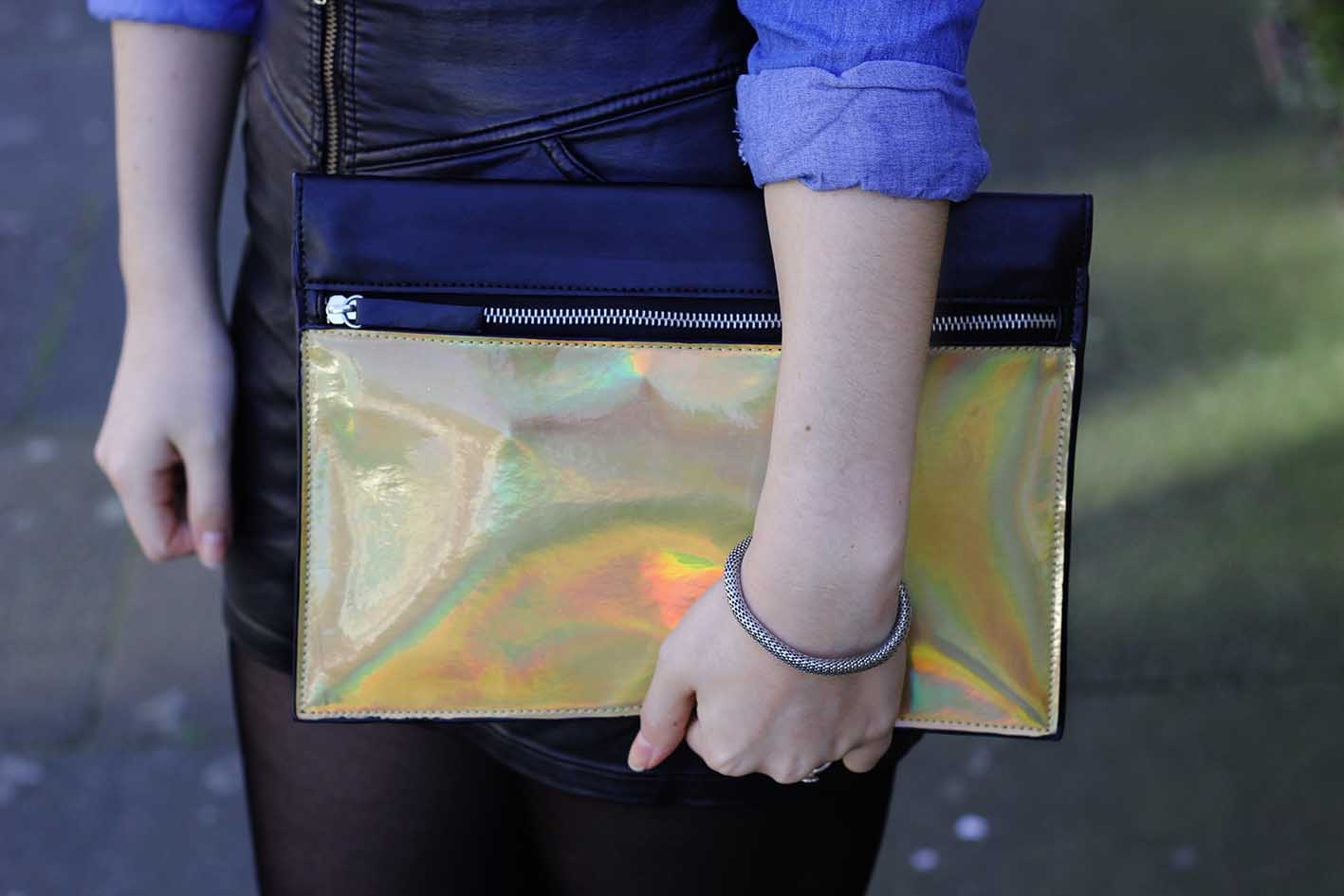 holographic hologram bag