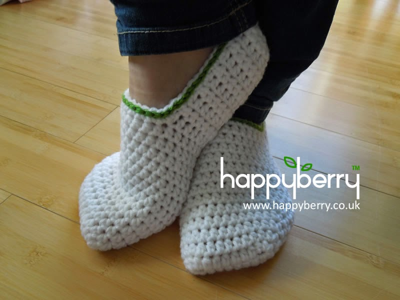 Happy Berry Crochet: How To - Crochet Simple Adult ...