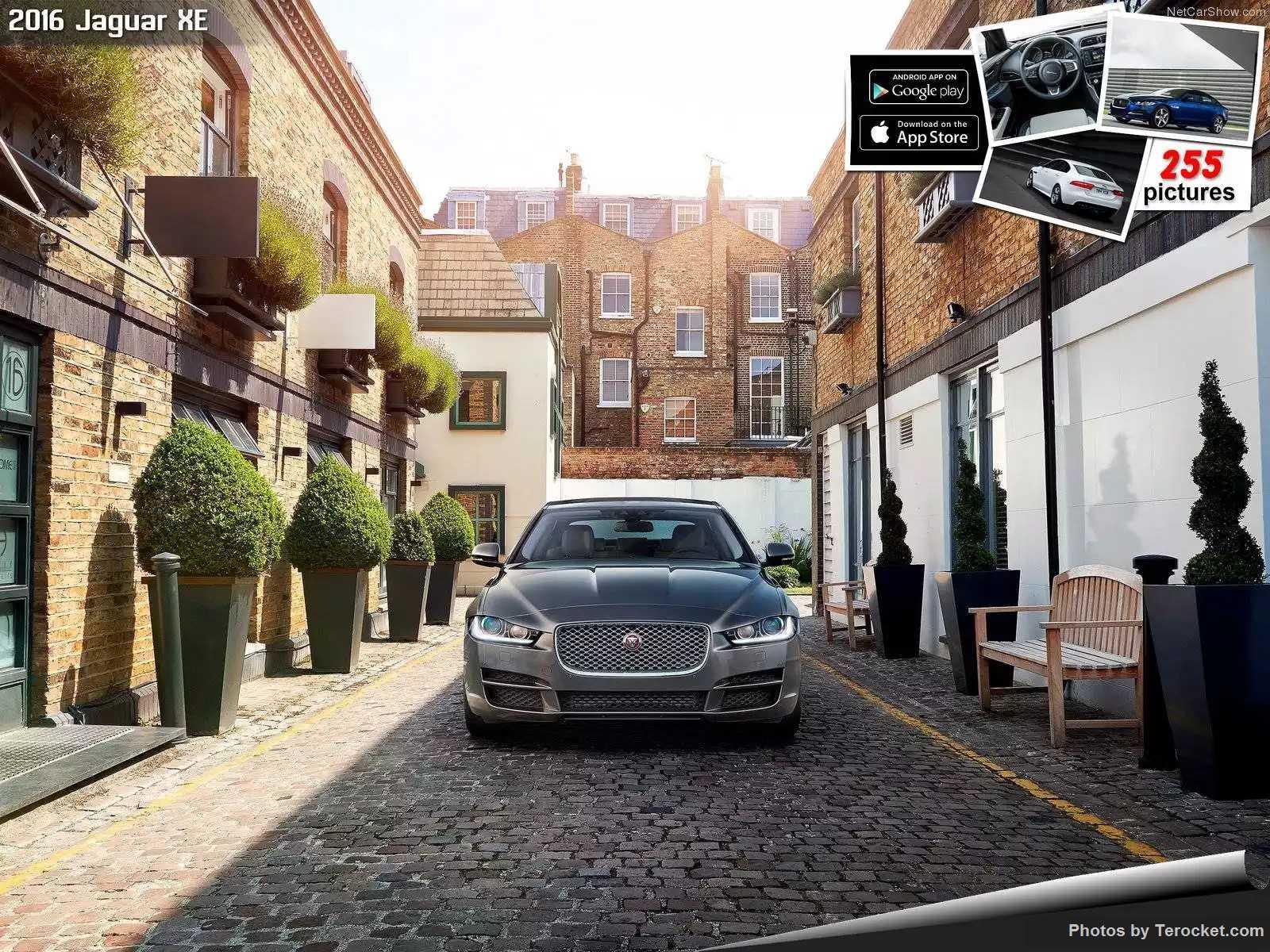 Hình ảnh xe ô tô Jaguar XE 2016 & nội ngoại thất