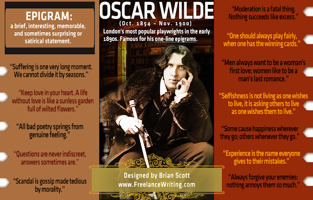 Oscar Wilde's Most Popular Epigrams