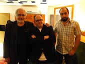 Con Daniel Raffo y Juancho Hernández