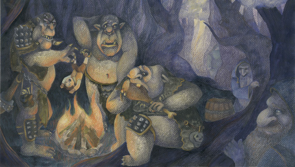 Mmmm, roast hobbit!