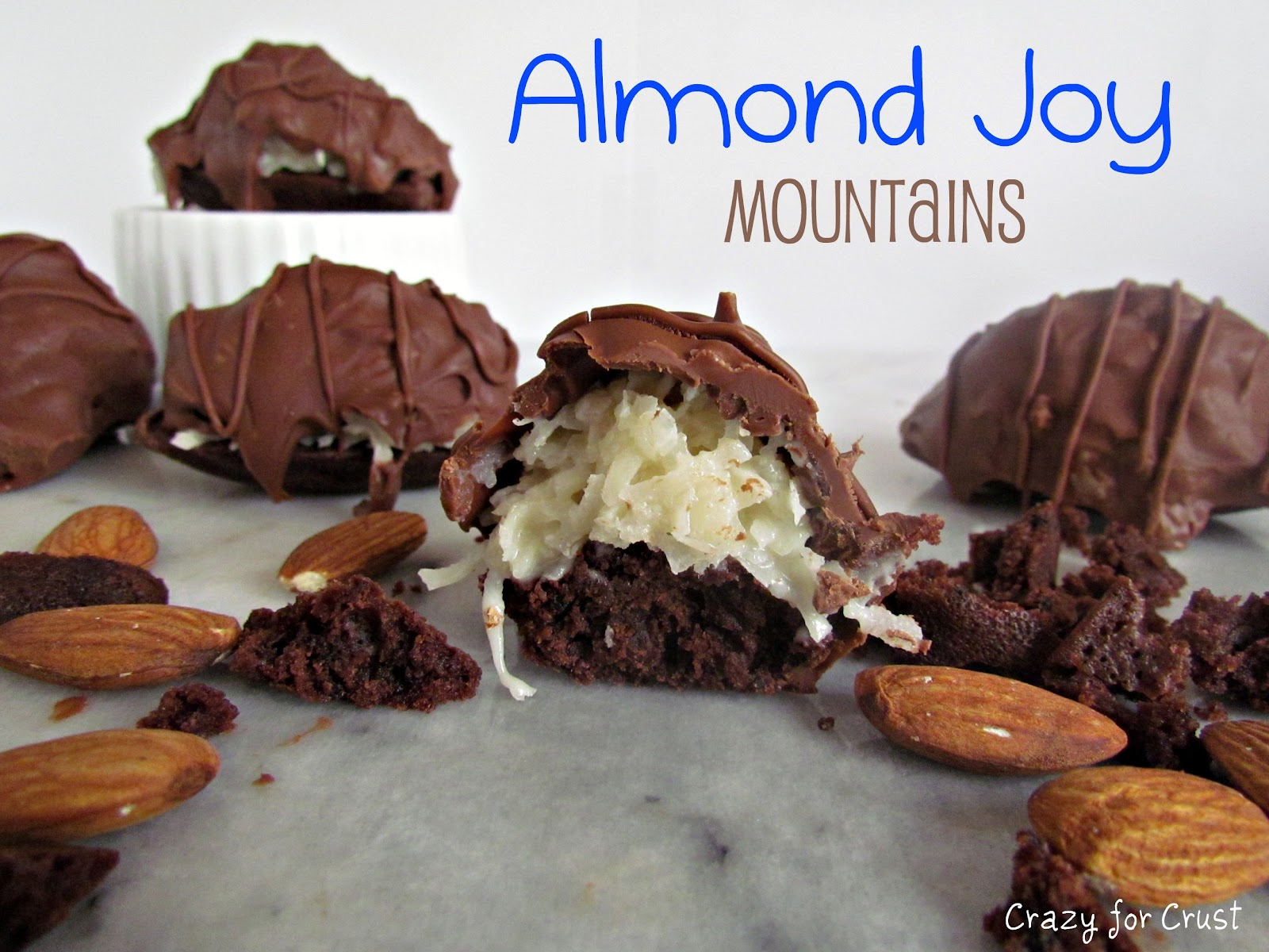Recipe: Almond Joy mountains