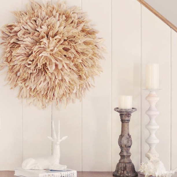 feather wall art diy juju hat