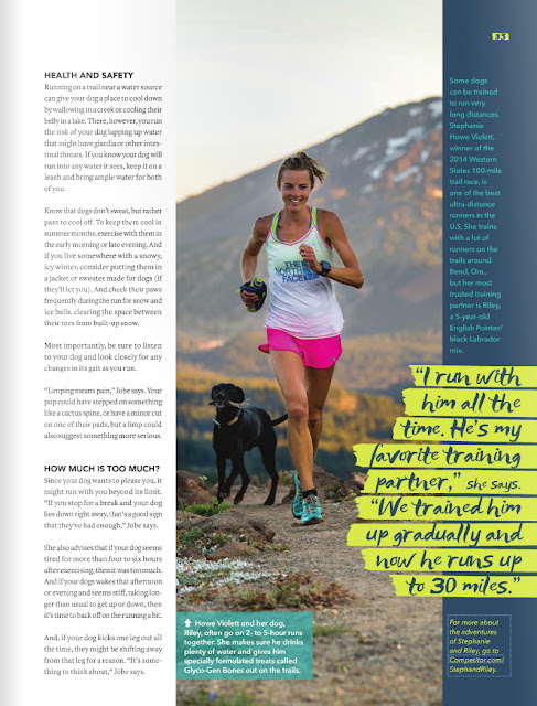 Trail runner and active lifestyle Stephanie Howe.