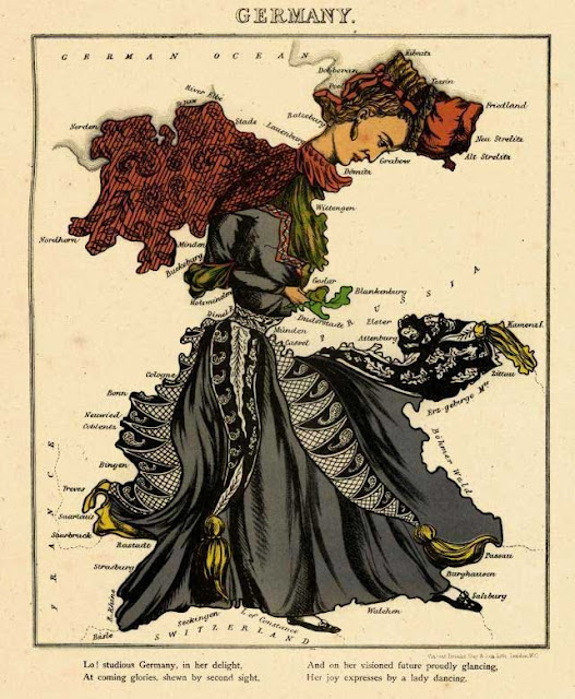 Germany_1868_Caricature_Map