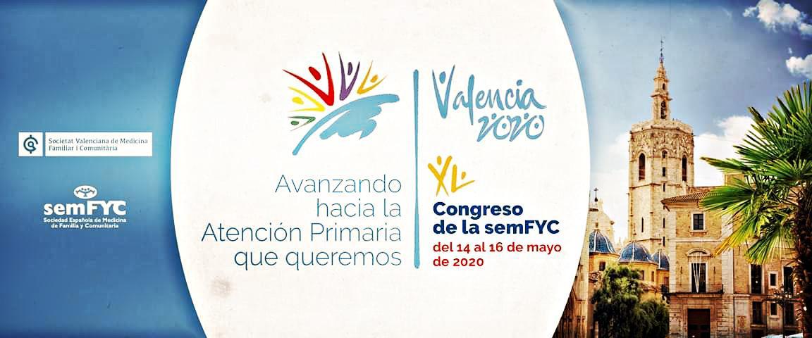 Congreso SEMFyC Valencia Mayo 2020