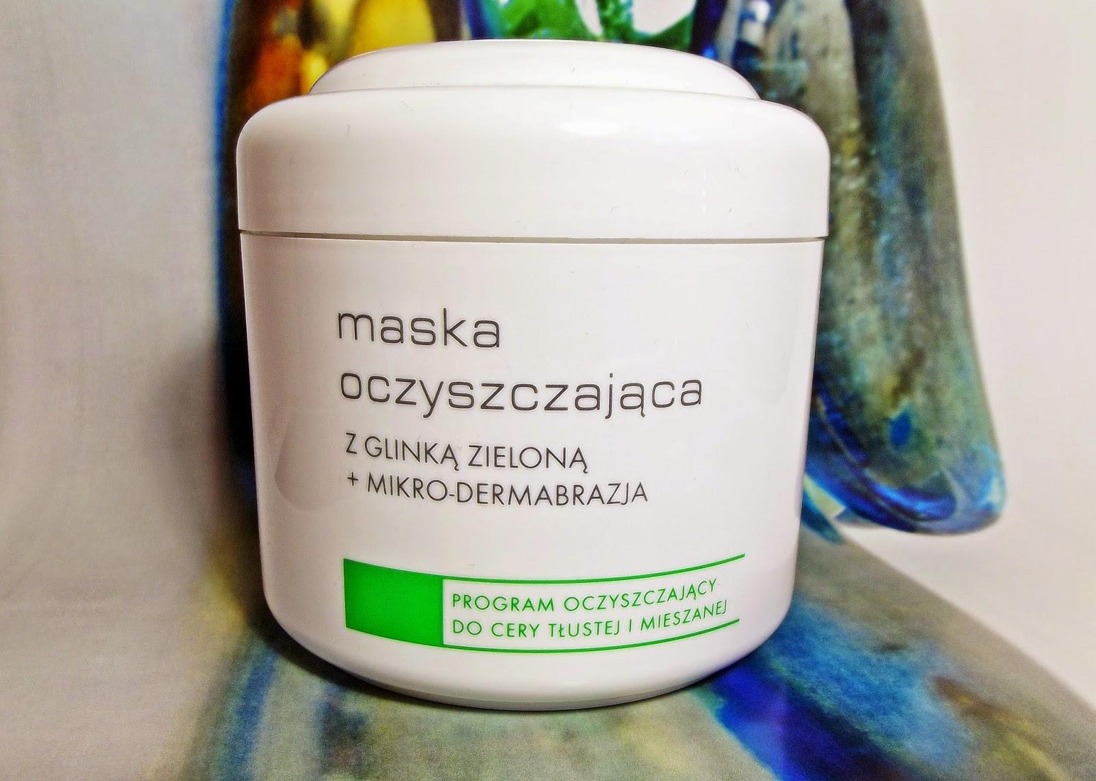 Ziaja maska oczyszczająca z glinką zieloną + mikro-dermabrazja