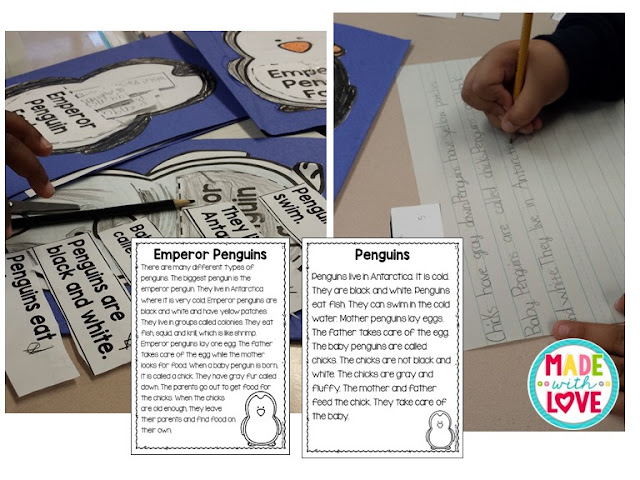 differentiated penguin passages