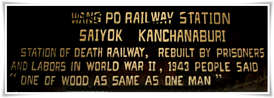 Tailandia Death Railway