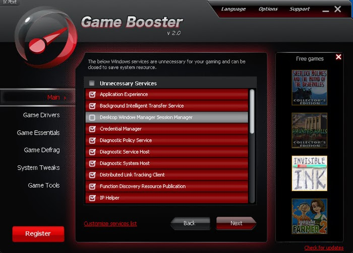 Представляю вашему вниманию программу razer game booster