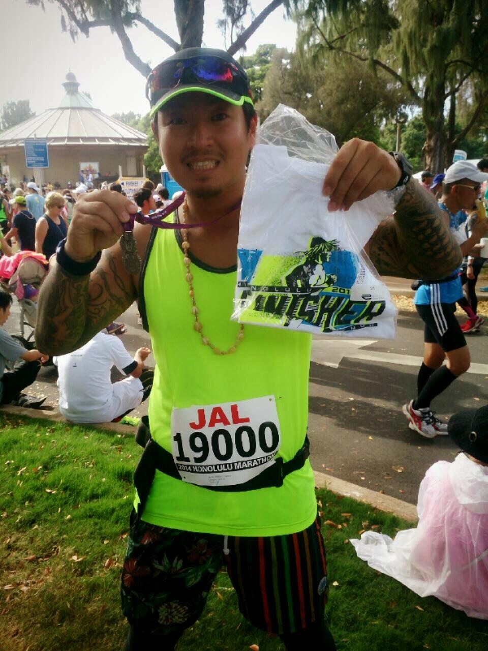 2014ホノルルマラソン