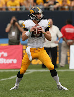 Iowa was the only one-quarterback team in the FBS division in 2012.
