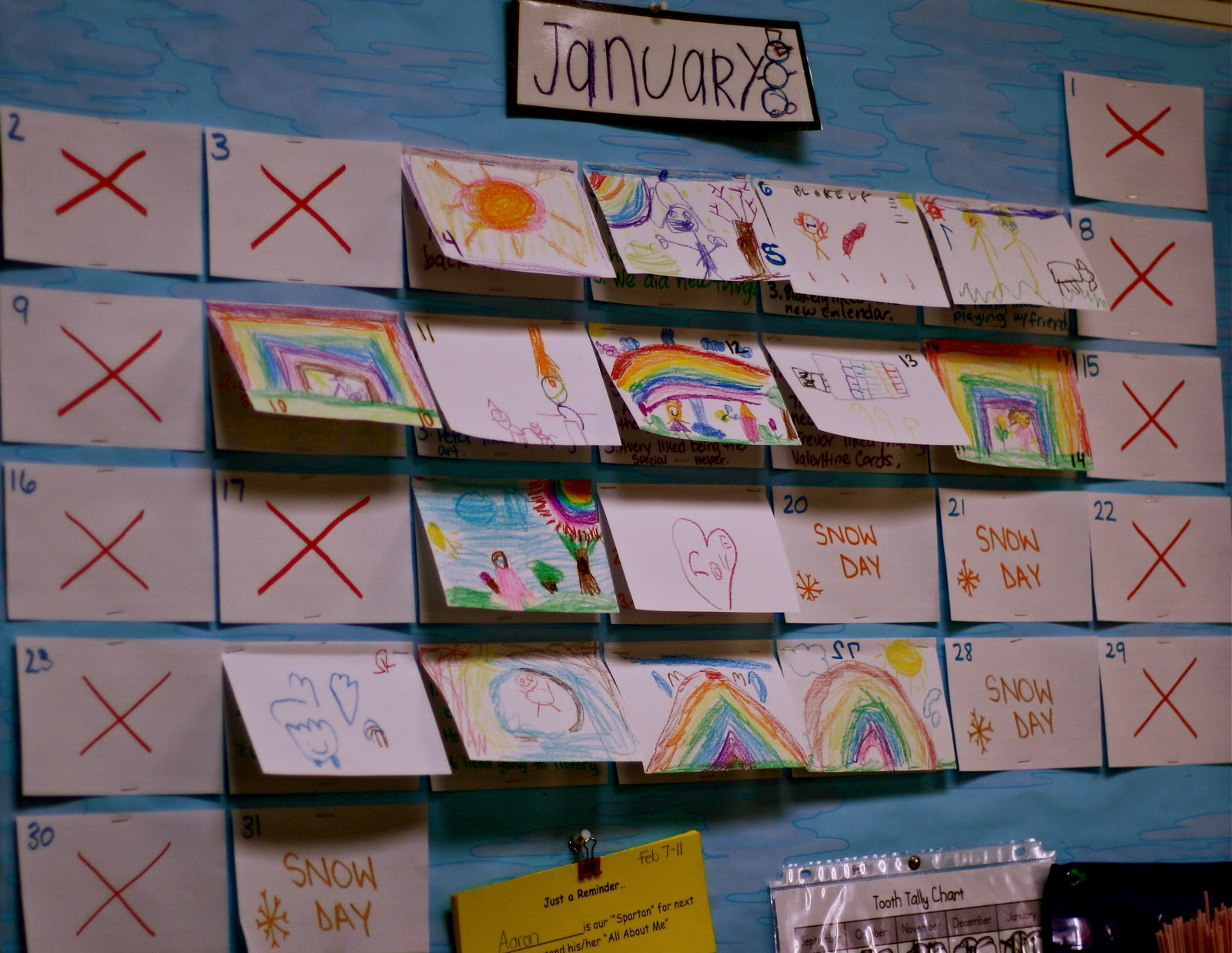 Quot Reggio Inspired Quot Child Made Calendar And More Fairy