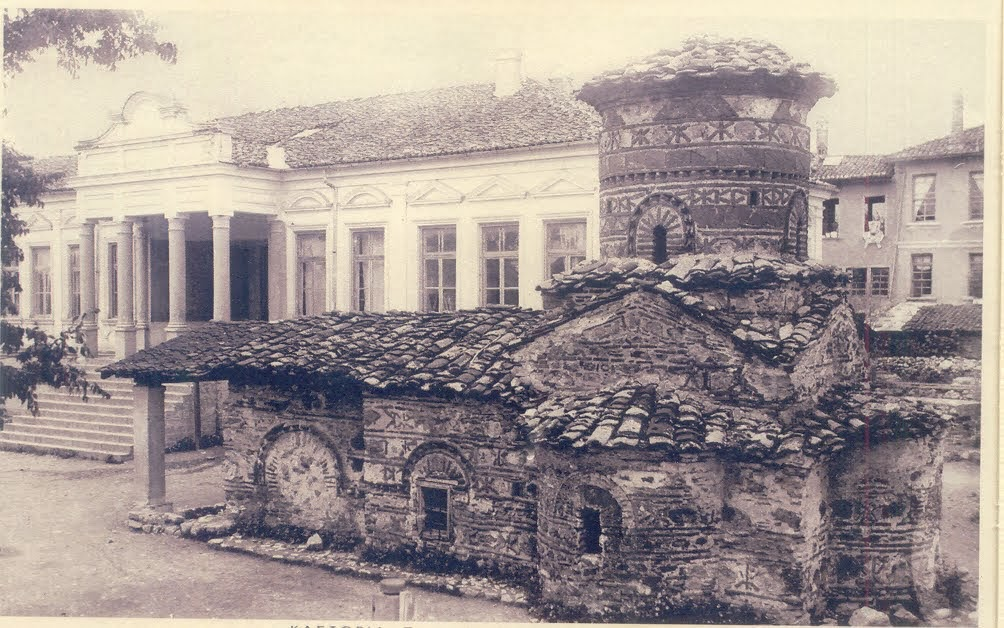 Σπάνια απεικόνιση της Αγίας Τριάδος σε εκκλησία της Καστοριάς http://leipsanothiki.blogspot.be/