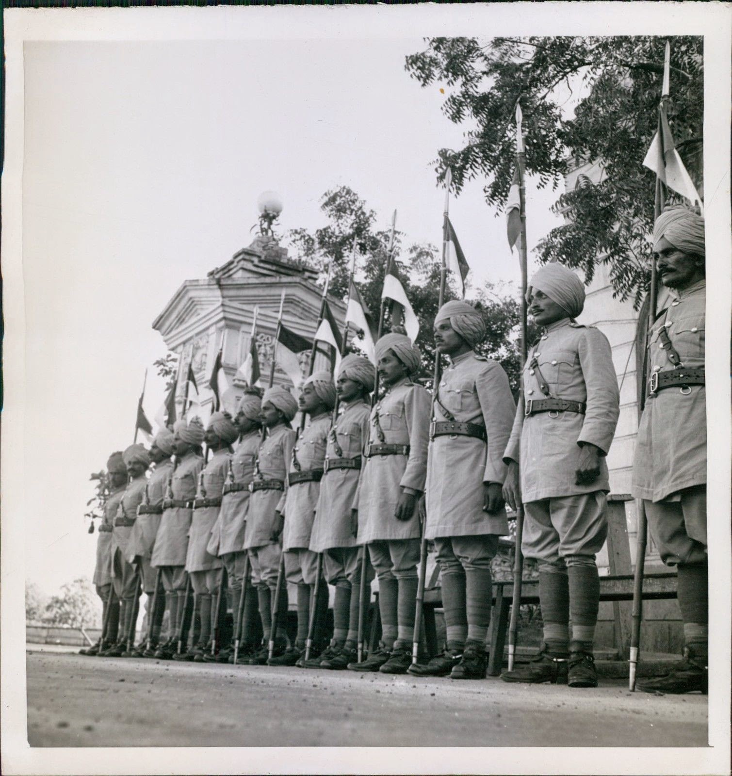 Private Guards of the Maharaja Jam Saheb