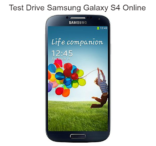 How To Try & Experience or Test Drive the Samsung Galaxy S4 Online