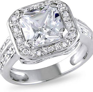 Cheap Cubic Zirconia Engagement Rings
