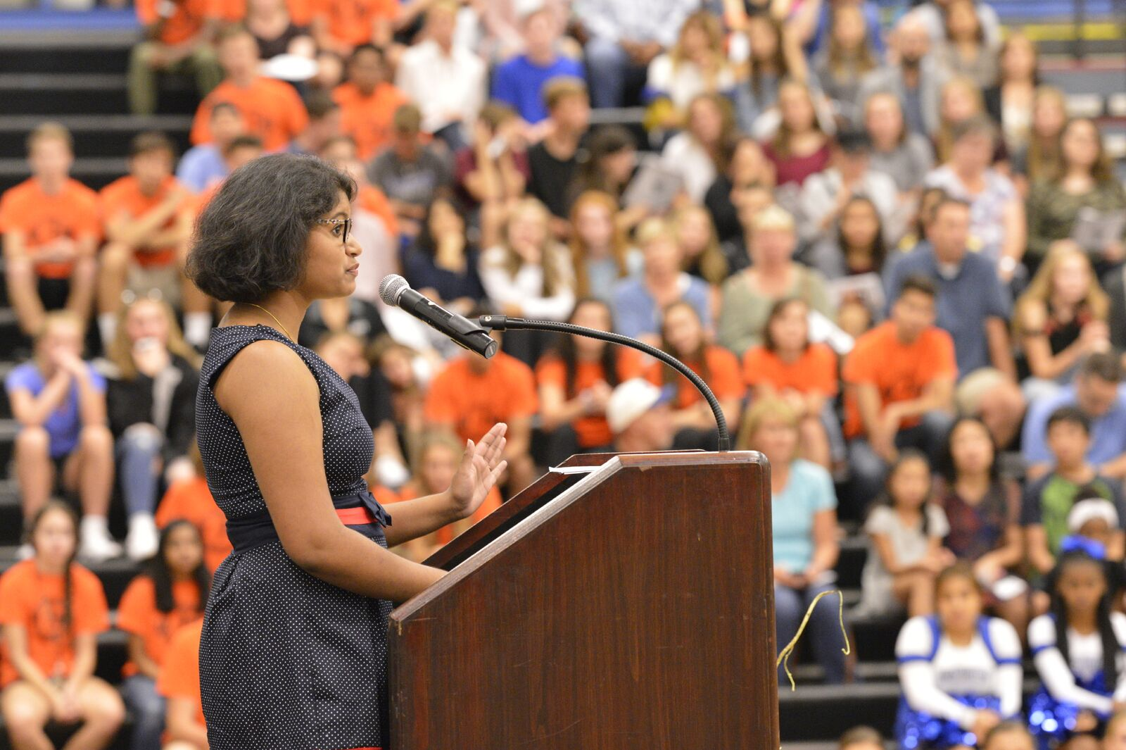 Sanjana - Freshmen Welcome 2017