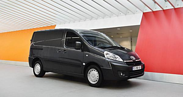 Toyota Work Van >> 2016 Toyota Proace Medium Duty Cargo Van Auto Toyota Review