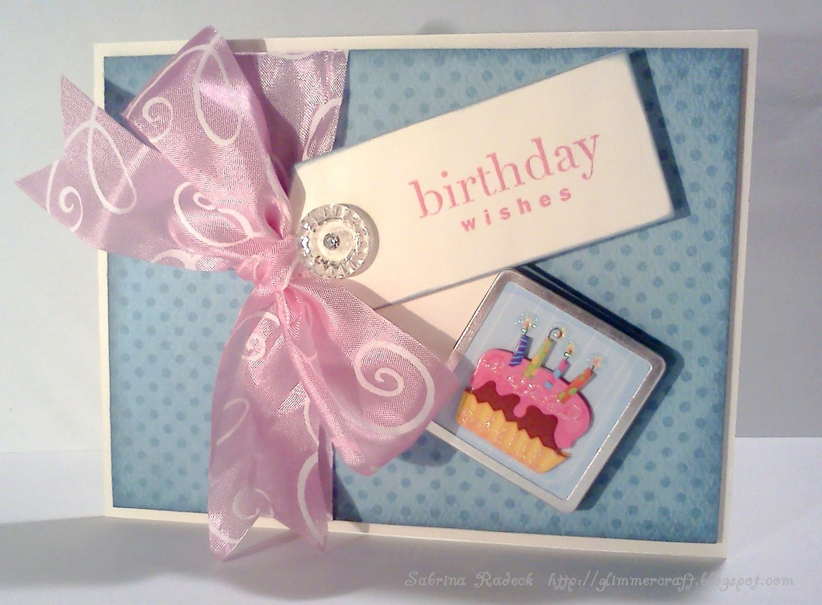 Aspiring to Creativity: Double Tag Birthday Card