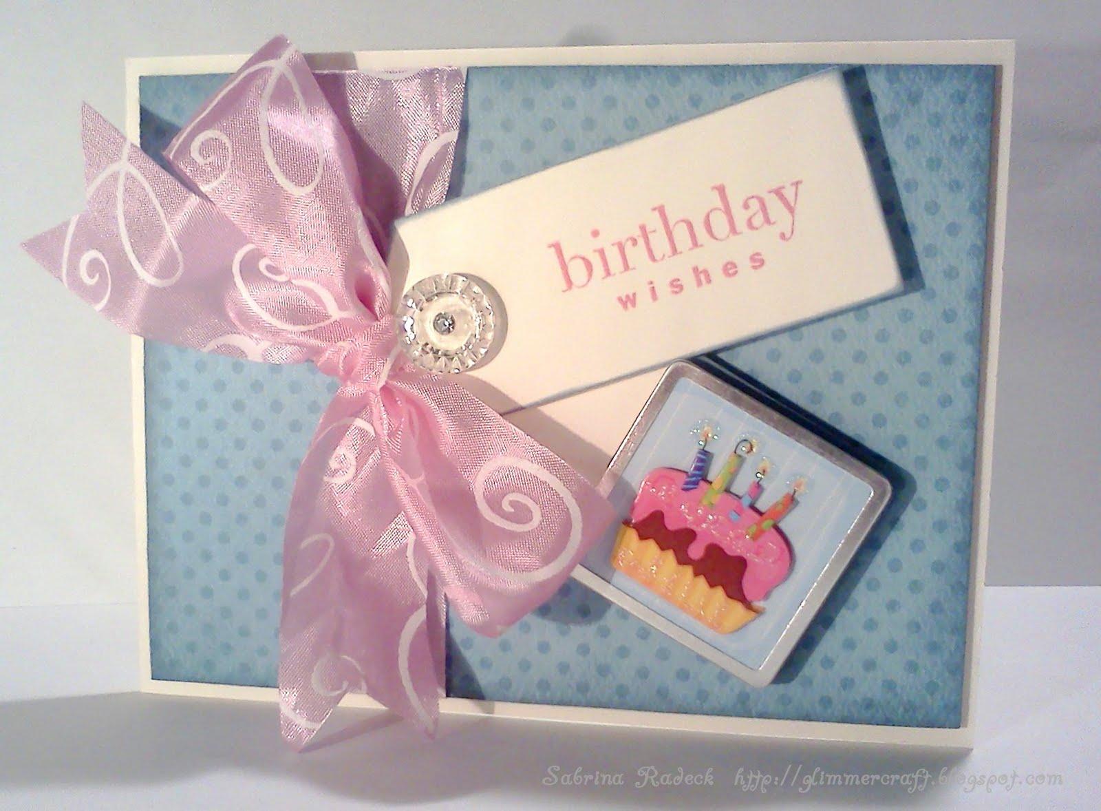 Aspiring to Creativity: Double Tag Birthday Card