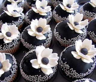 Cupcakes Blanco y Negro, parte 2