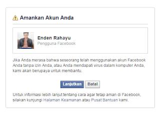 Mengamankan akun FB