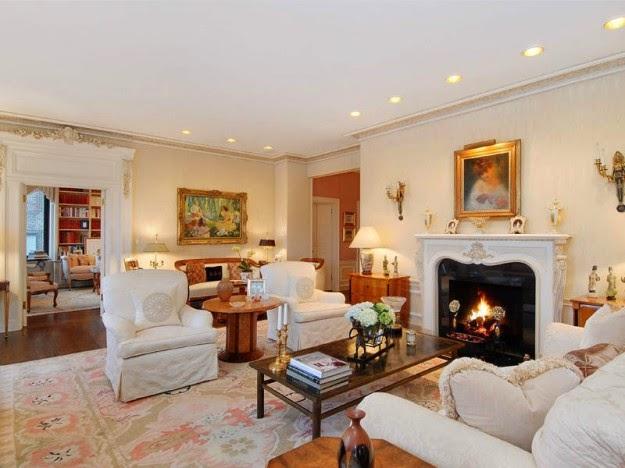 Sala con chimenea salas con estilo - Chimeneas con estilo ...