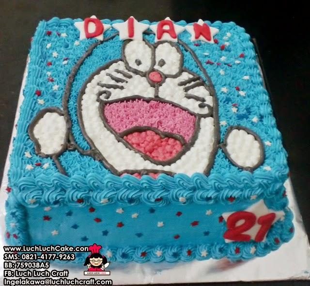 kue ulang tahun untuk anak doraemon