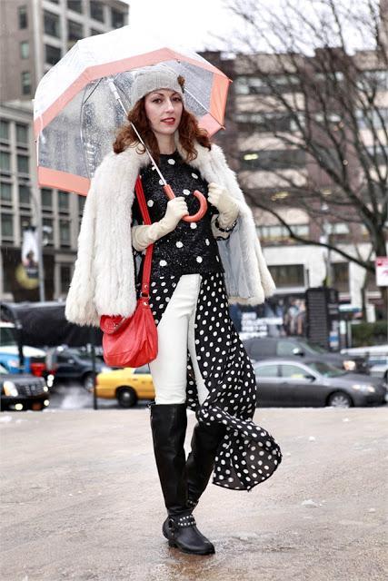 Streetstyle Polka Dots
