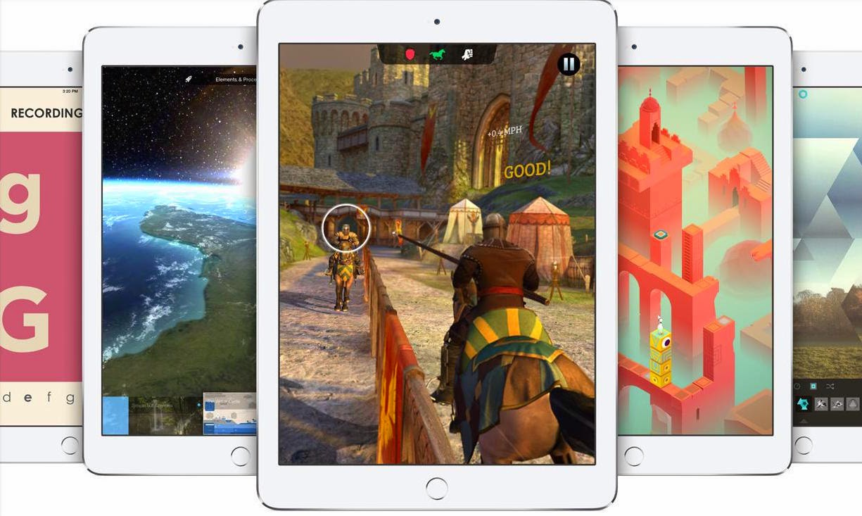 APPLE RENUEVA SUS TABLETAS Y PRESENTA IPAD AIR 2 E IPAD MINI 3