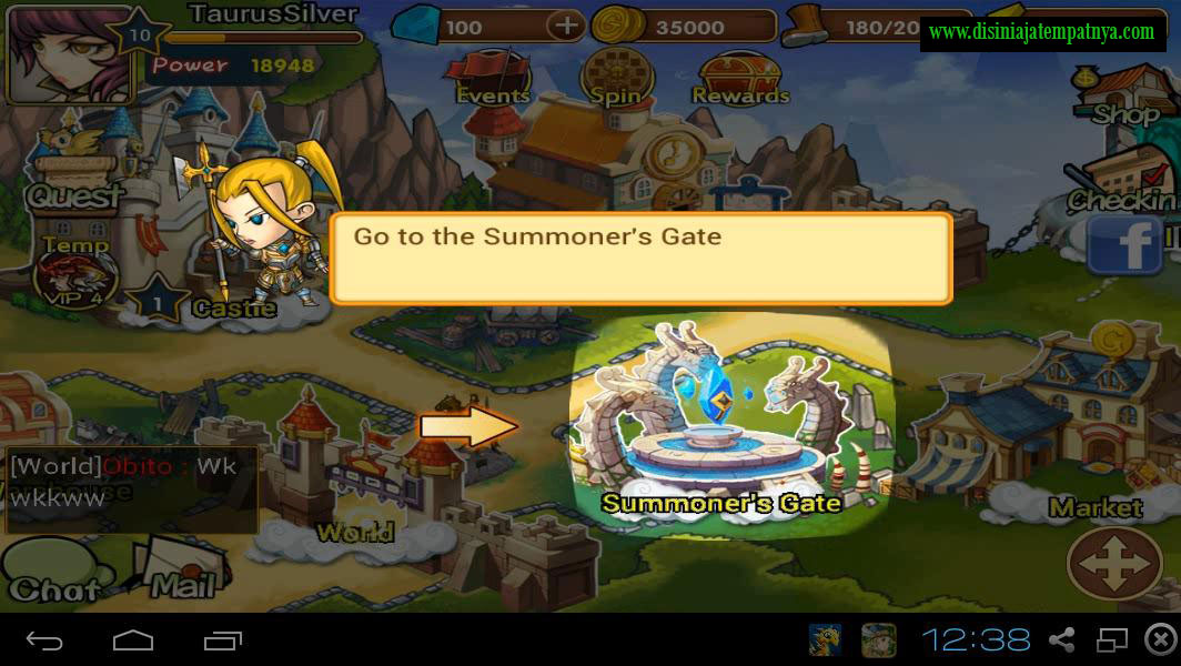 Summoner Gate - Hero Dream