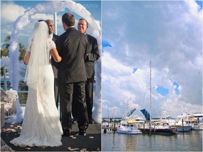 Sun Dream Yacht Charters ft lauderdale wedding