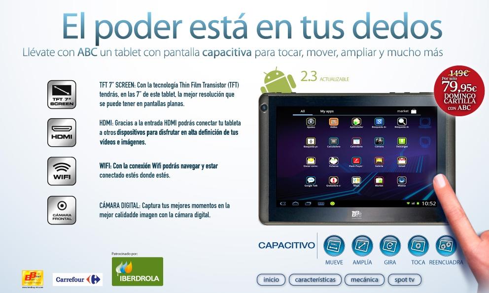 Mi Cuarta Dimension Tablet Best Buy Oferta De Abc