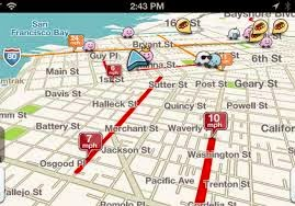 برنامج Waze Social GPS Maps & Traffic جو