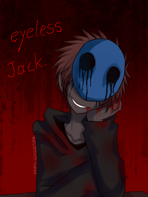 Eyeless Jack Wallpaper Nombre:eyeless jack edad:16