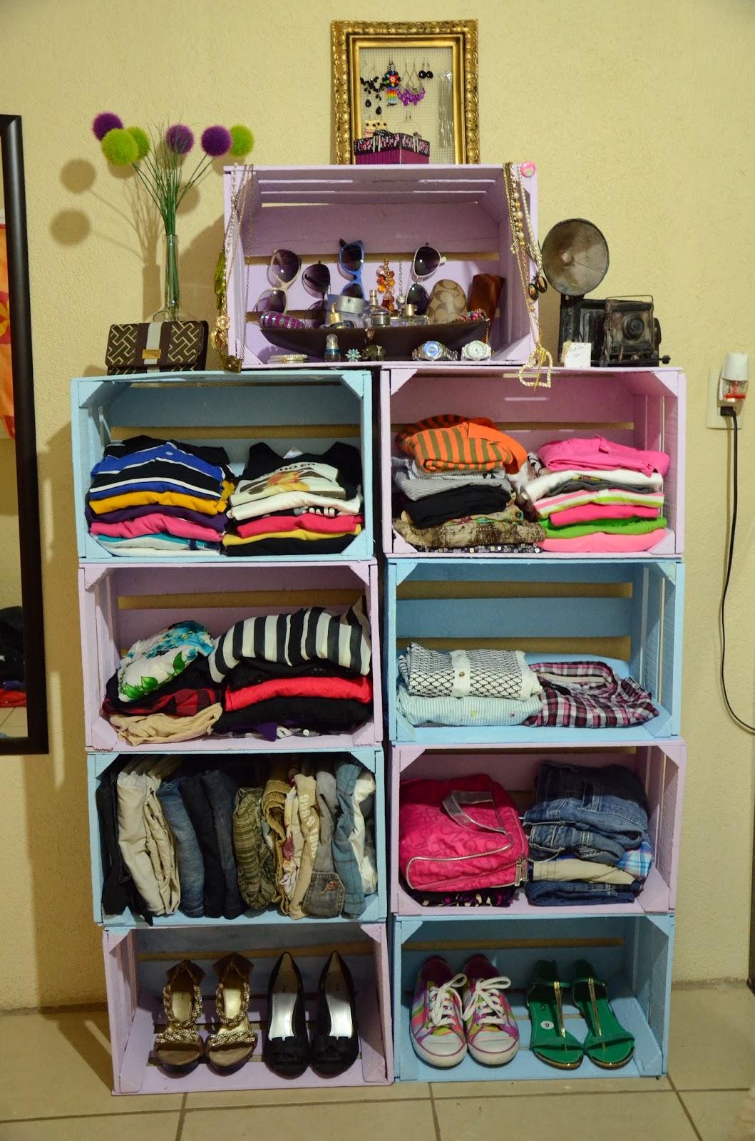 El blog de itzi proyecto d i y closet para tu habitaci n for Como hacer closet para habitaciones