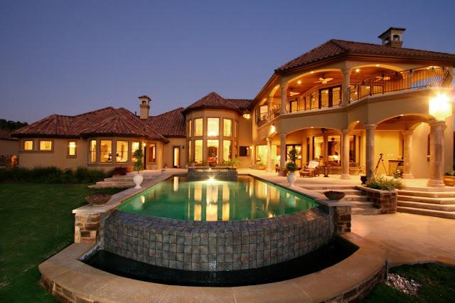 Patio con piscina patios y jardines - Patios con piscina ...
