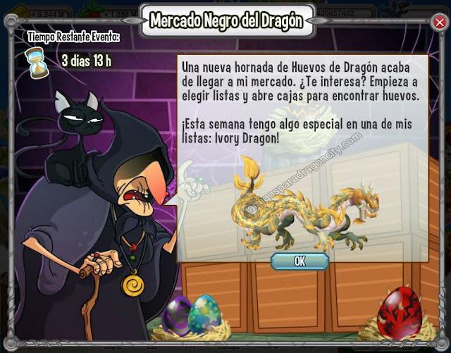 imagen del ivory dragon en el mercado negro del dragon