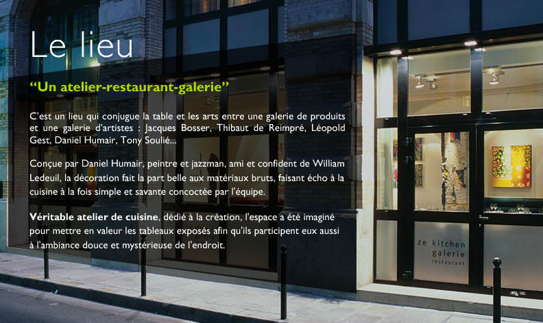 Restaurant Kitchen Gallery Paris paris restaurants and beyond: ze kitchen galerie - zis must be zee