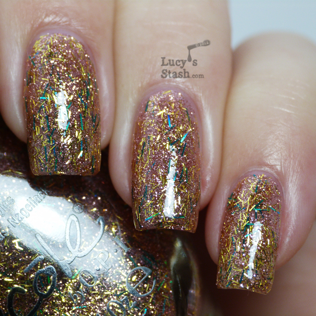 Lucy's Stash -  Nicole by OPI A Gold Winter's Night