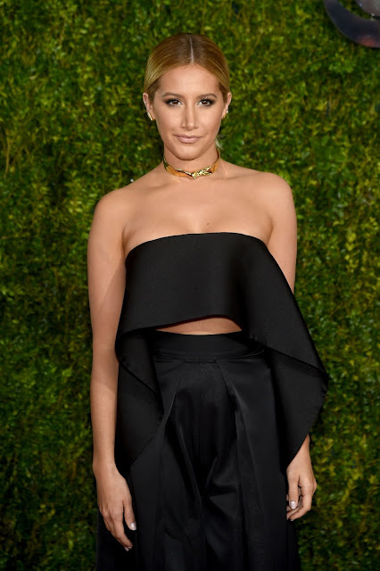 Actress, Singer @ Ashley Tisdale attends the 2015 Tony Awards in New York