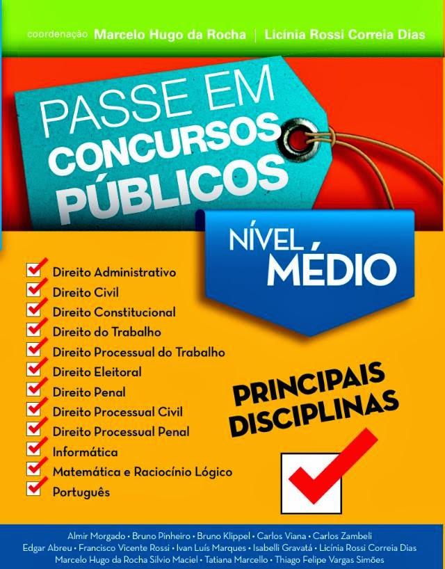 PASSE EM CONCURSOS PÚBLICOS