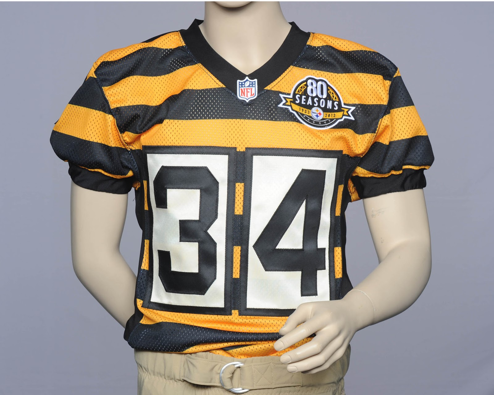 "... Pittsburgh Steelers will be throwing back to these ""1934"" uniforms ... e7088c236"