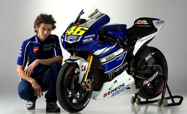 YZR-M1 dan Valentino Rossi