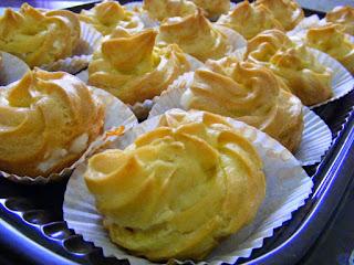 Cara membuat kue sus vla vanila
