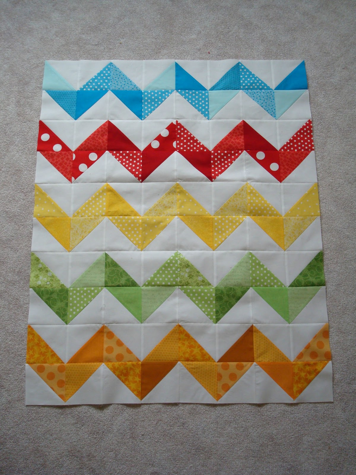 Zig Zag Love Quilt Pattern : Third Time s a Charm: Works in Progress